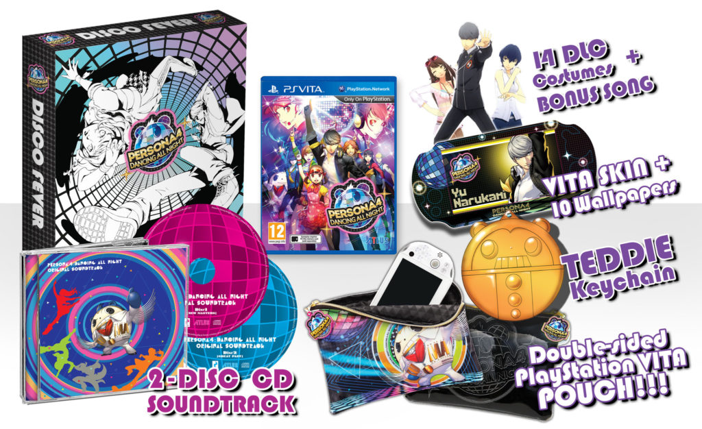 Disponibile Persona 4 Dancing All Night Disco Fever EU Limited Edition