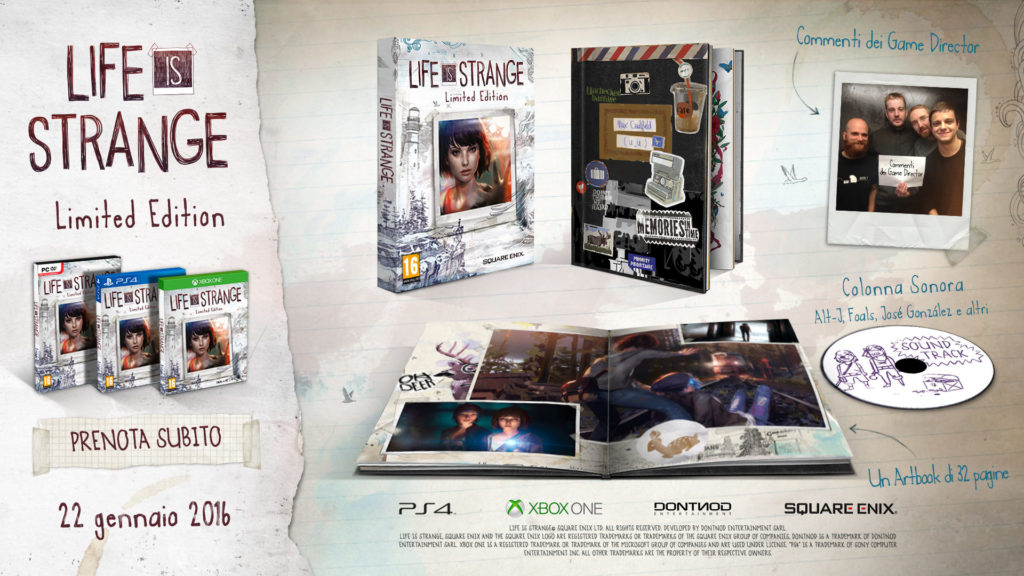 Limited Edition di Life is Strange