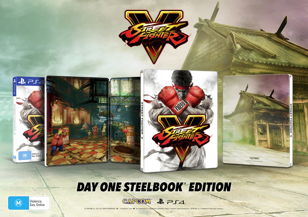 Street Fighter 5 Day One Steelbook Edition