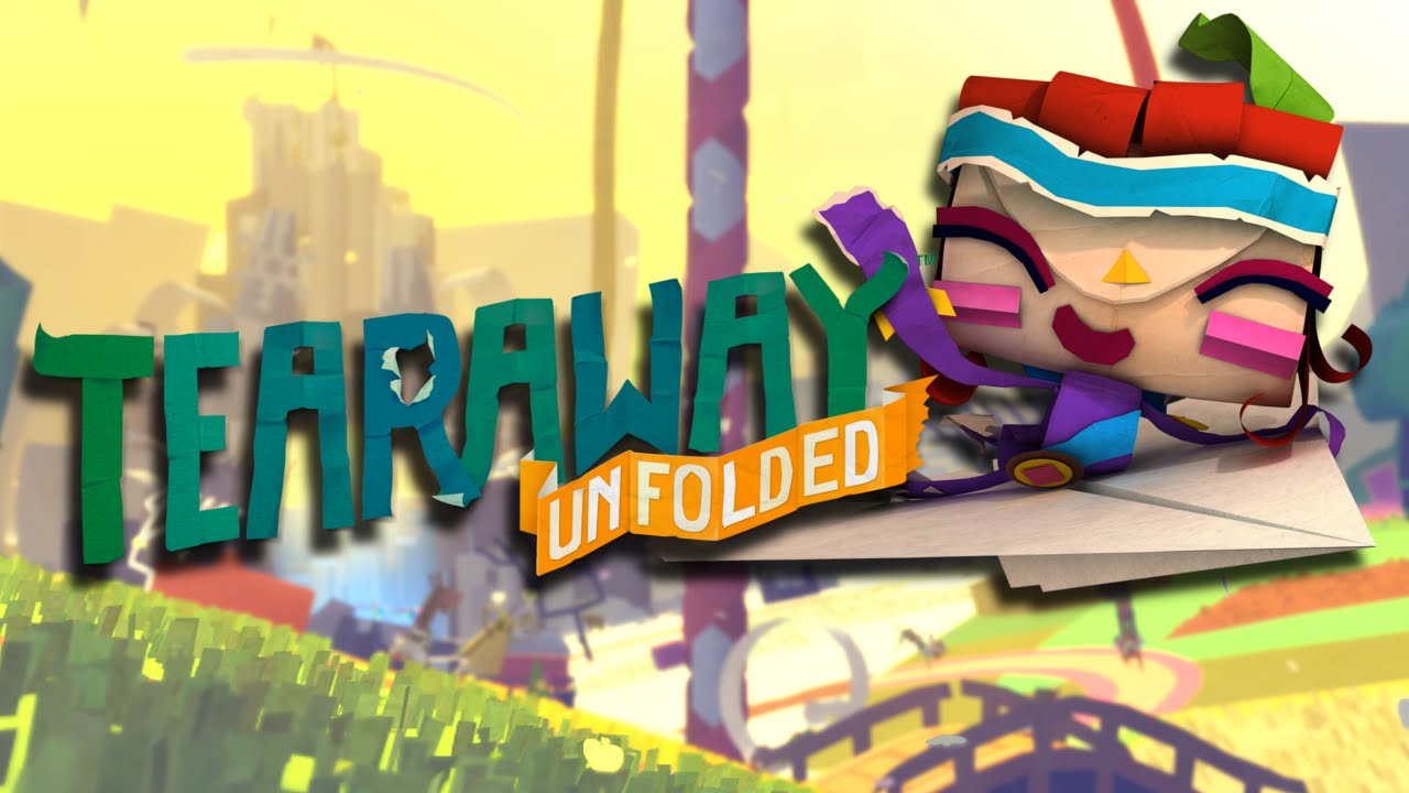 Tearaway Unfolded recensione