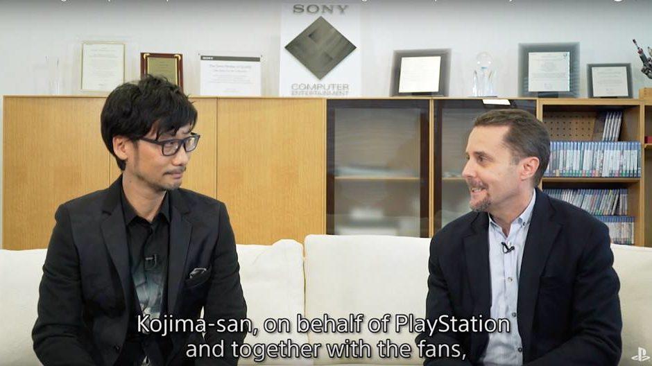 Hideo Kojima e Sony lavorano insieme per un'esclusiva PS4
