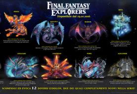 Tutti gli Eidolon di Final Fantasy Explorers