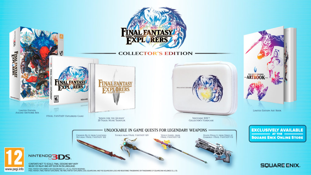 Eidolon in Final Fantasy Explorers Collector's Edition