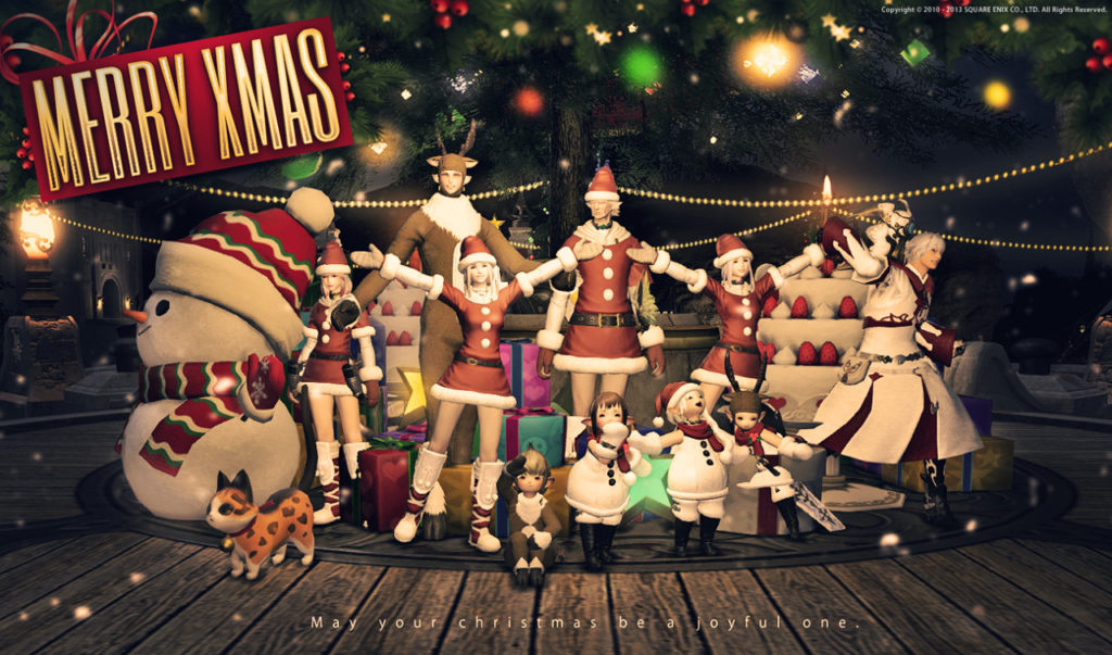 FFXIV Natale a Eorzea