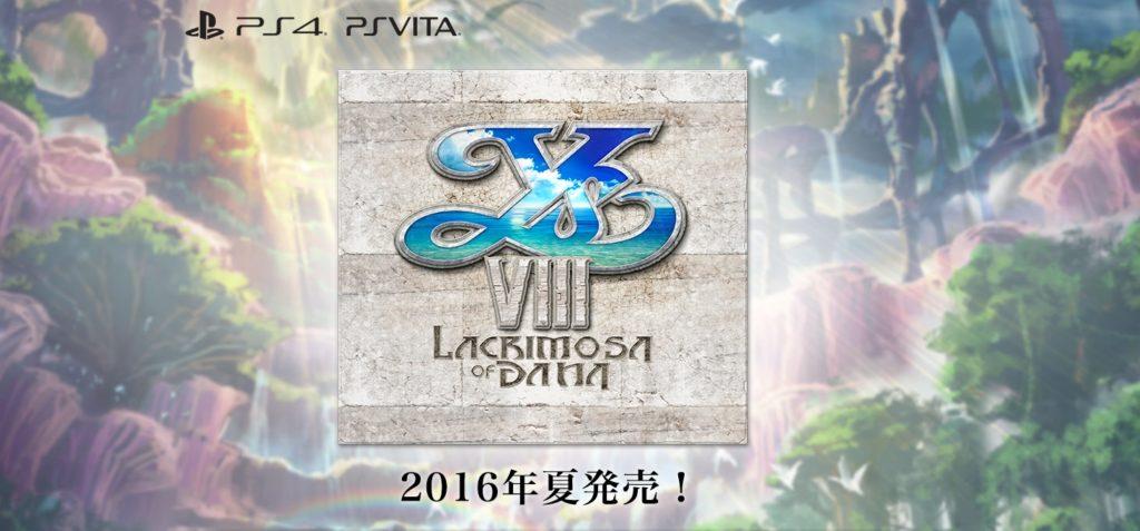 Ys VIII Lacrimosa of Dana logo