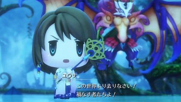 gameplay di World of Final Fantasy