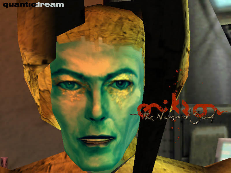 David Bowie Omikron The Nomad Soul