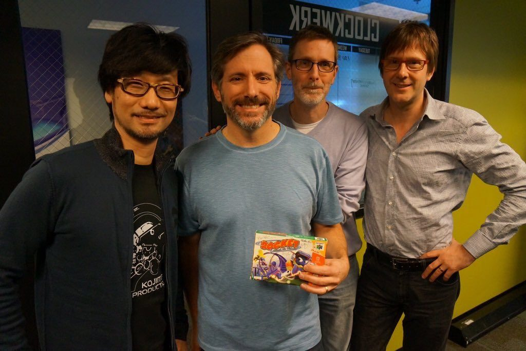 hideo kojima e mark cerny sucker punch