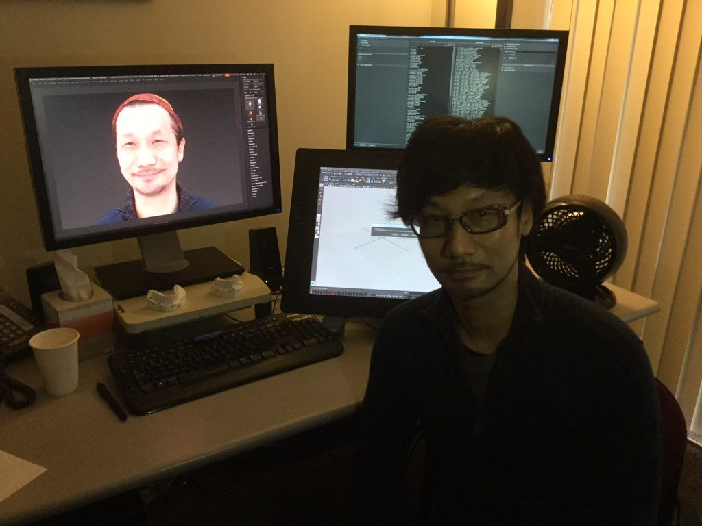 kojima face scan