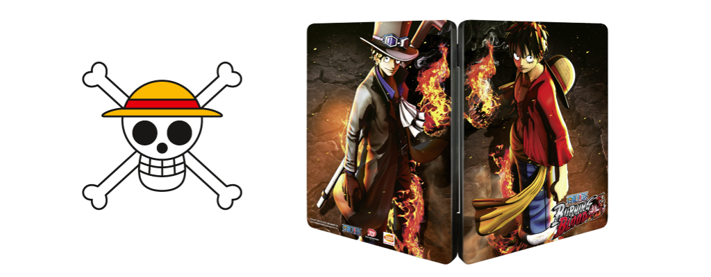 data di uscita di one piece: burning blood pre-order steelbook