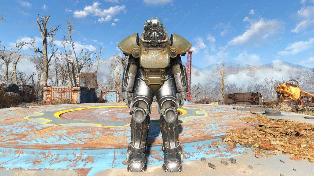 fallout 4 armature atomiche t-51