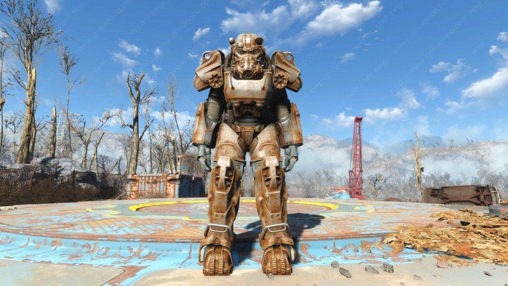 fallout 4 armature atomiche t-60