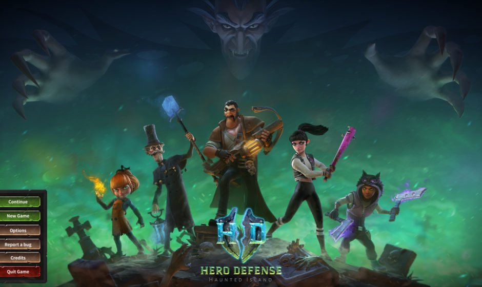 Hero Defense: Haunted Island - Anteprima