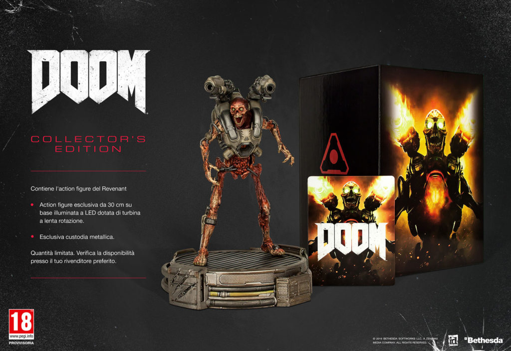 doom data di uscita collector's edition