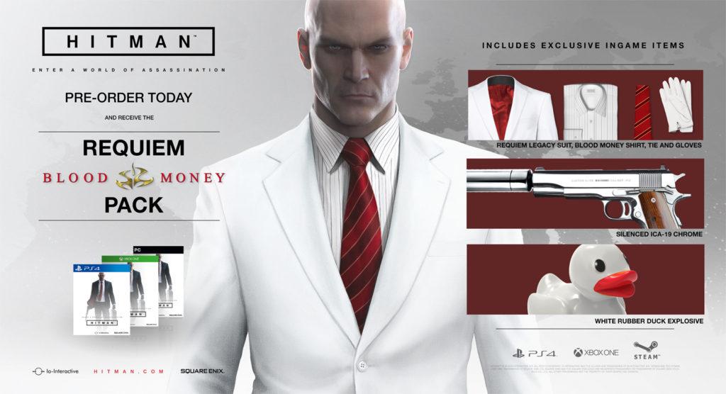 hitman nuovo trailer world of assassination pre-order