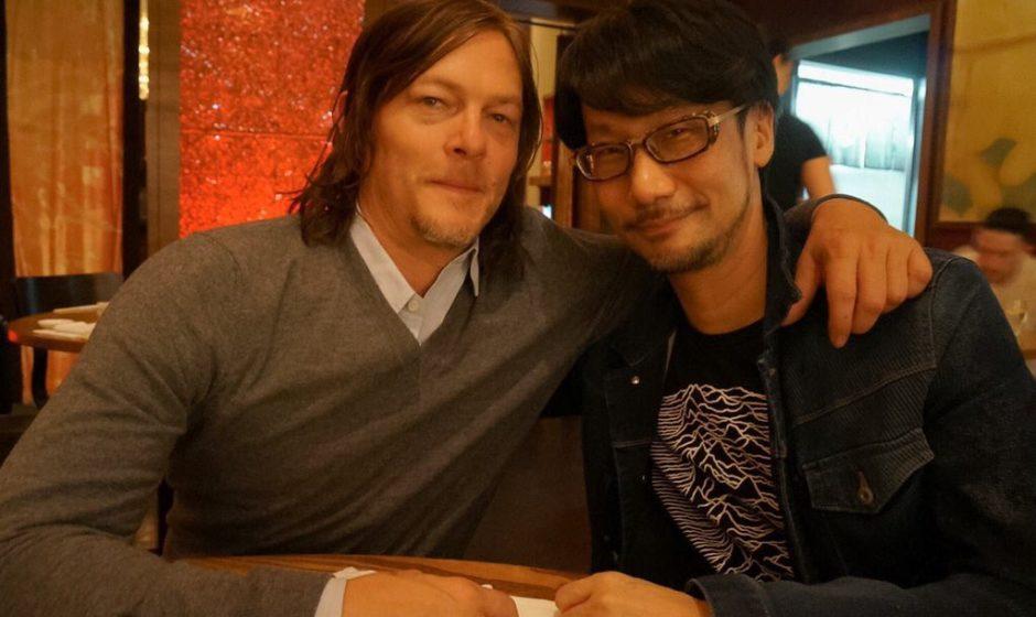 """Kojima incontra Norman Reedus per """"aggiornamenti"""""""