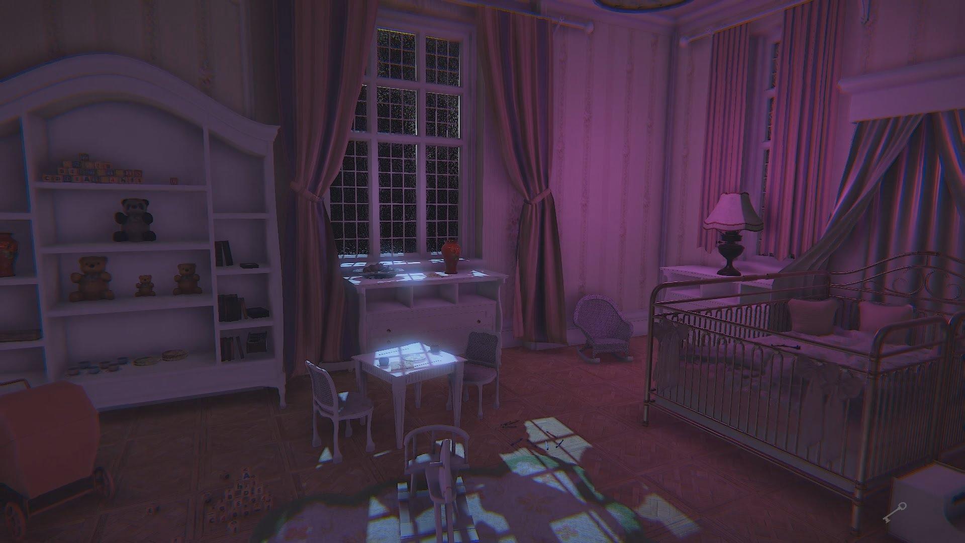 Alcune stanze sembrano quasi tranquille...