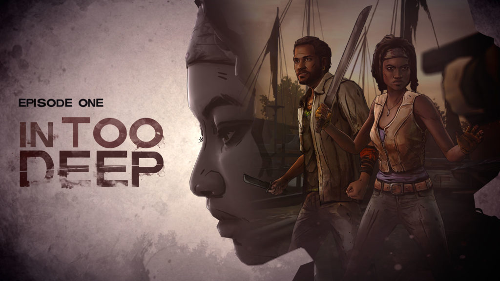 the walking dead michonne in too deep