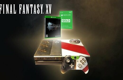 Final Fantasy XV: in regalo una Xbox One dedicata al gioco