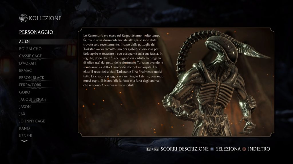 Mortal Kombat XL Recensione Alien