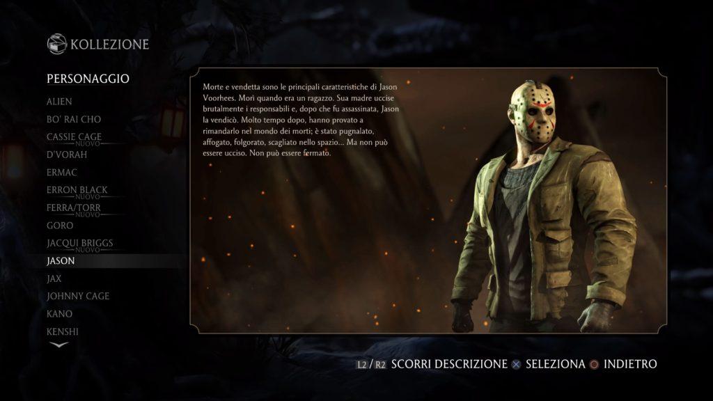 Mortal Kombat XL Recensione Jason