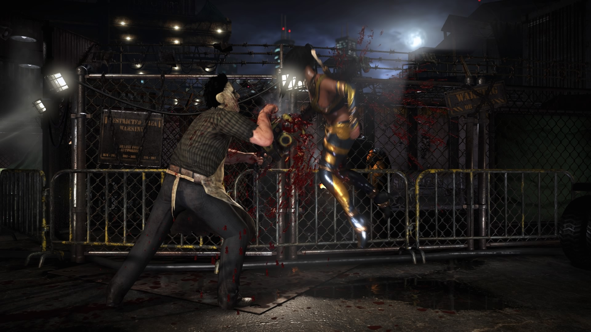 Mortal Kombat XL Recensione Leatherface fight
