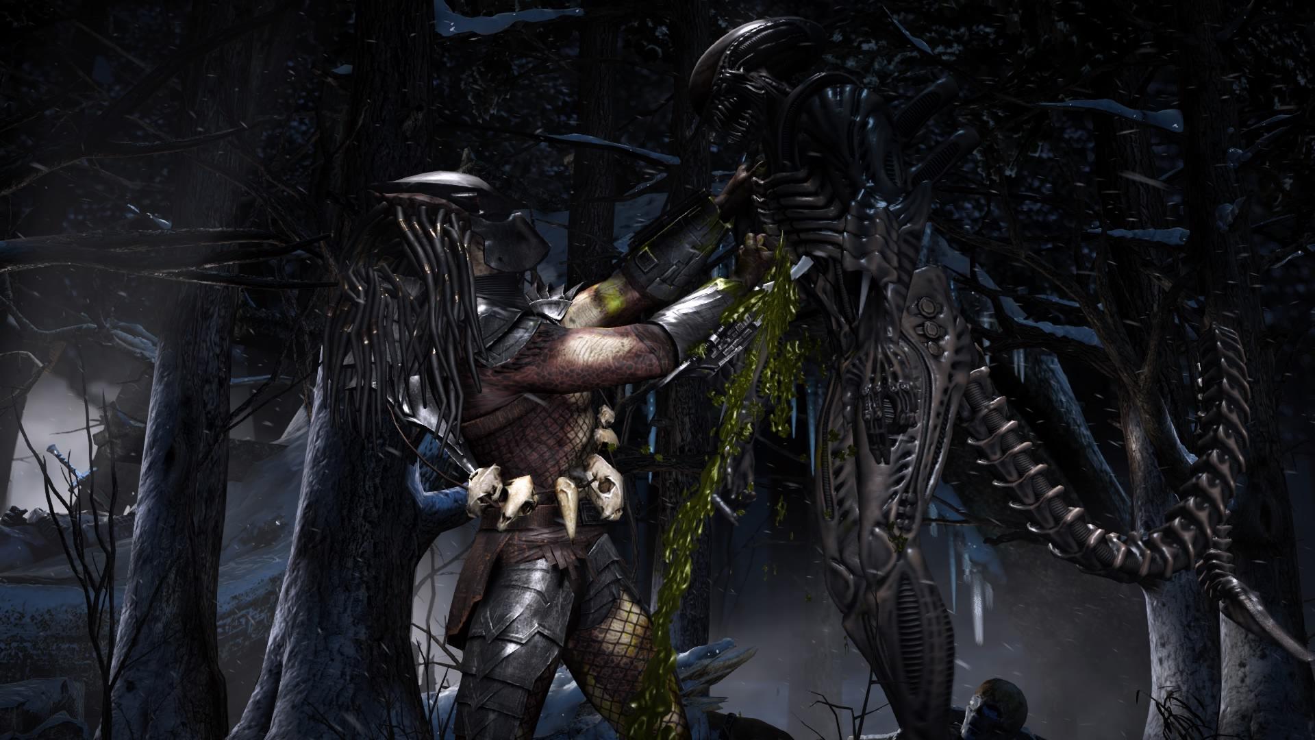 Mortal Kombat XL Recensione Predator fight