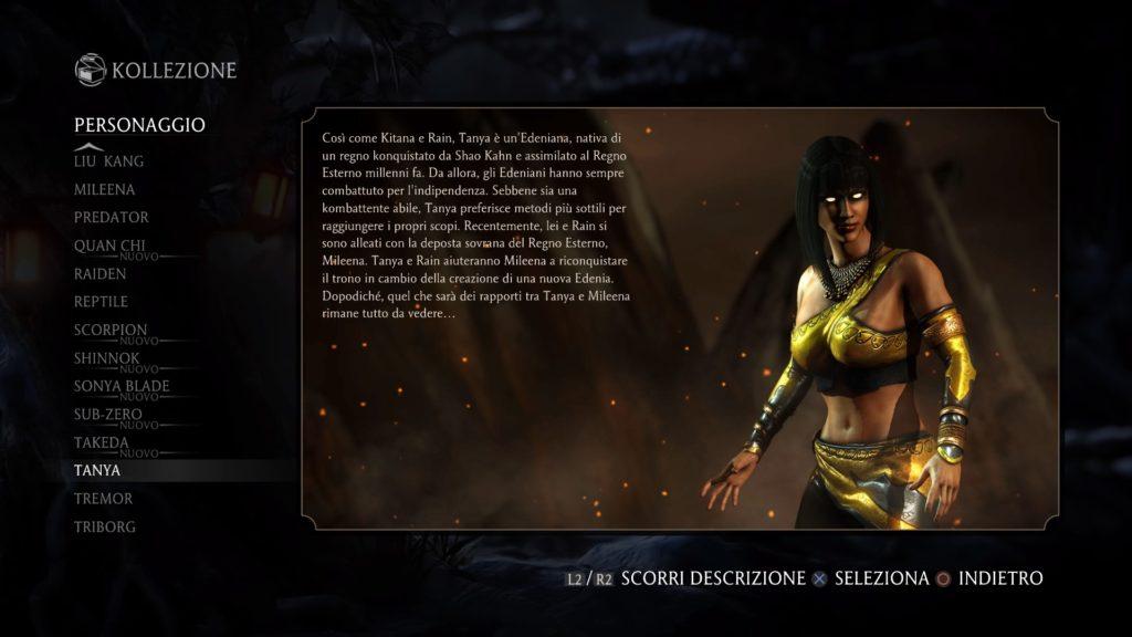 Mortal Kombat XL Recensione Tanya