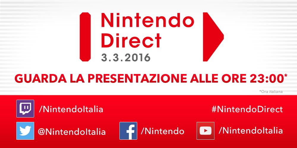 Nintendo Direct 3 Marzo