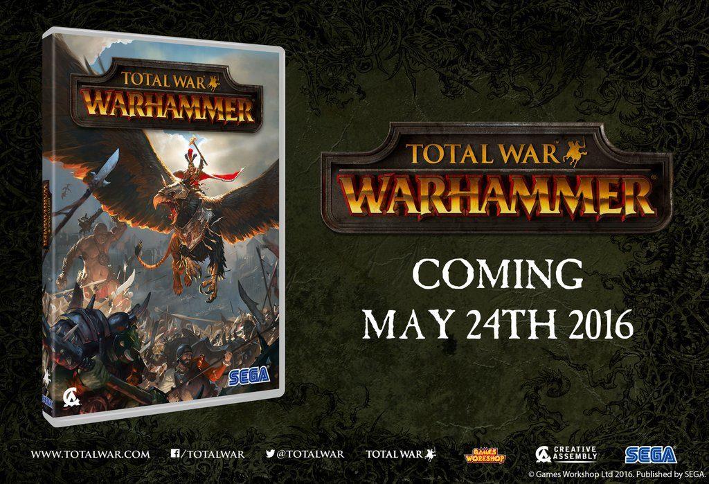 Total War: Warhammer data d'uscita