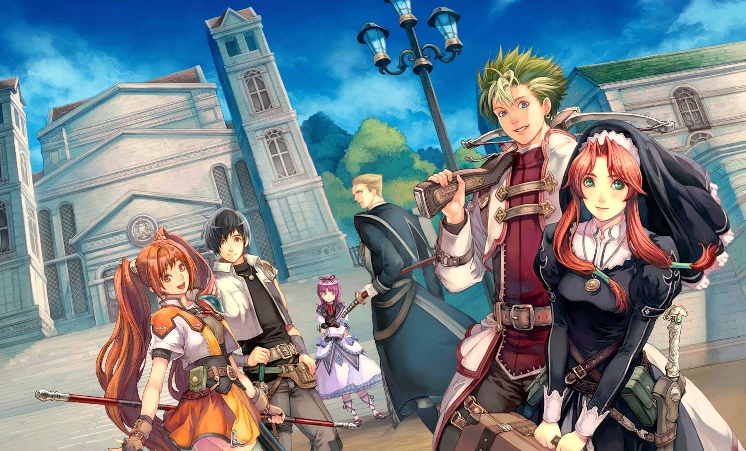 Trails in the Sky the 3rd in occidente