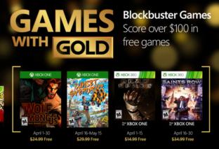 Annunciati i Games with Gold di Aprile