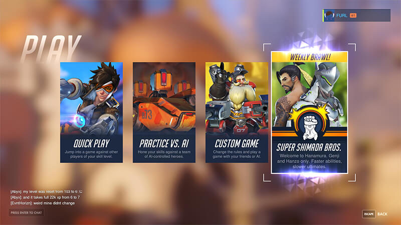 Overwatch patch 22 marzo