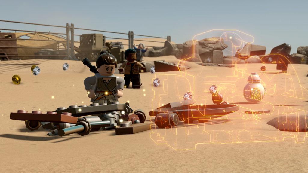 video gameplay di lego star wars il risveglio della forza 002
