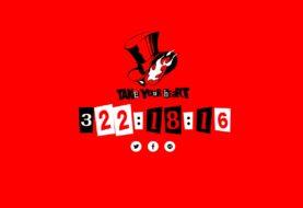Persona 5, apparso un countdown sul sito