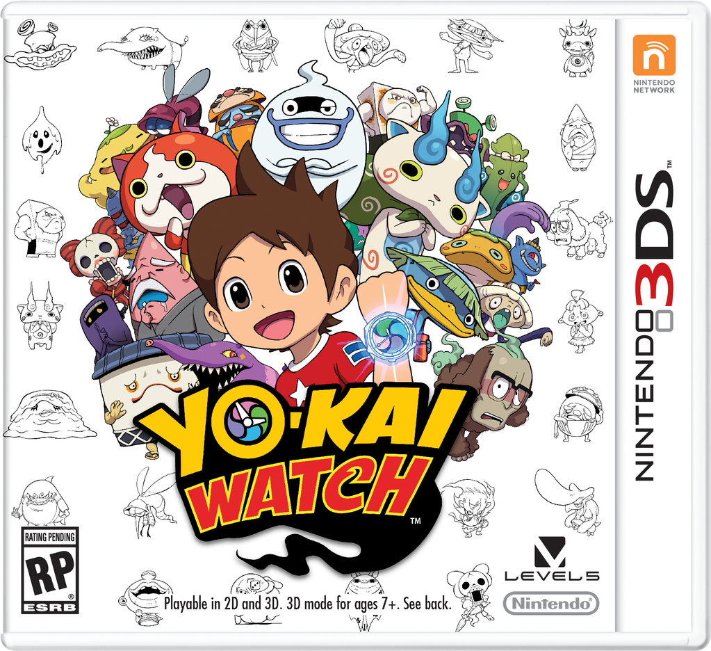 Cover Yokai Watch 2