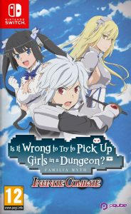 Cover Is It Wrong to Try to Pick Up Girls in a Dungeon? Infinite Combate
