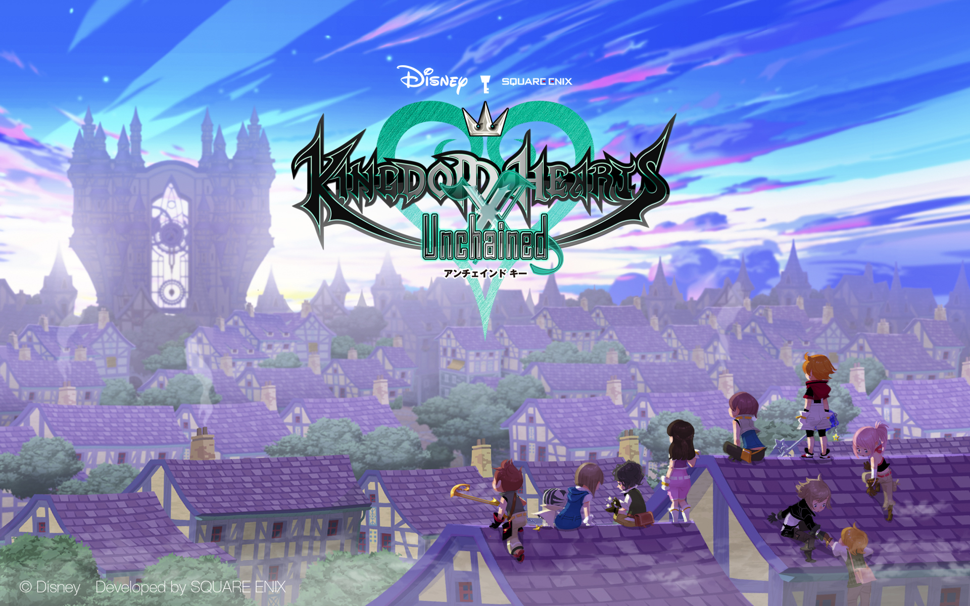 data americana di Kingdom Hearts Unchained X