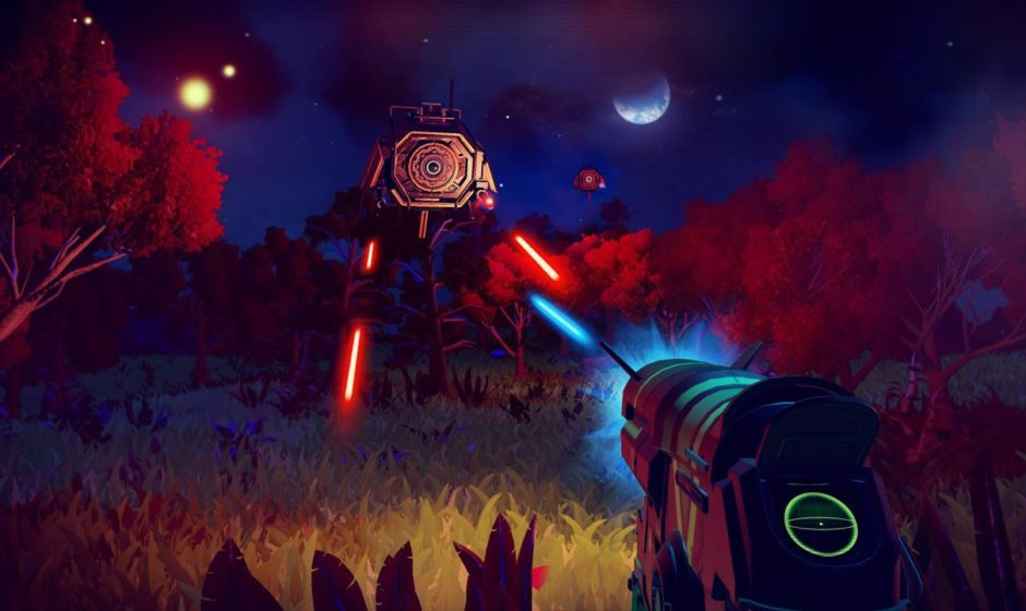 Più di 20 minuti di gameplay di No Man's Sky