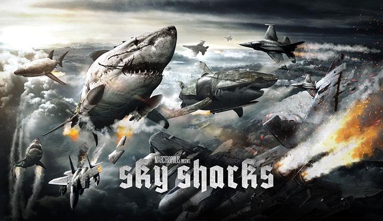 Sky Sharks, Nazisti  e squali alla conquista del mondo