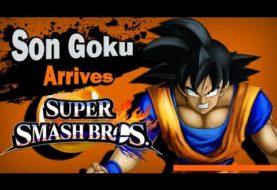Son Goku in Super Smash Bros. Wii U