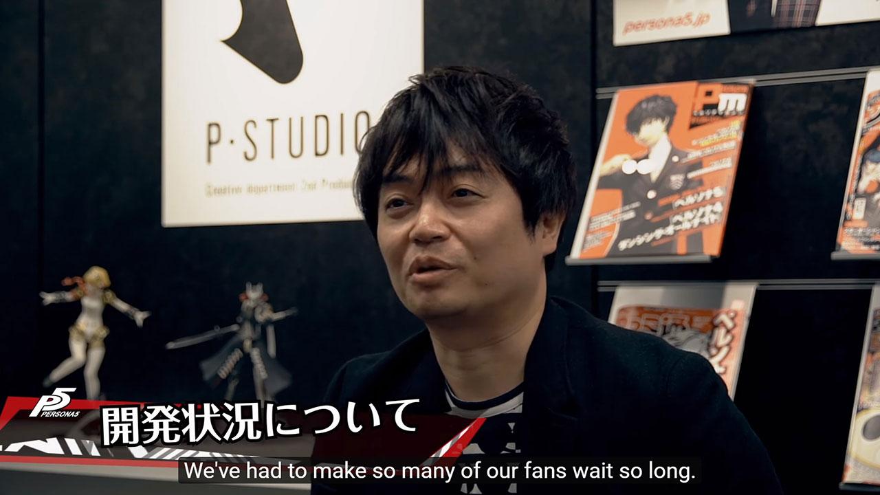 Persona 5 video intervista
