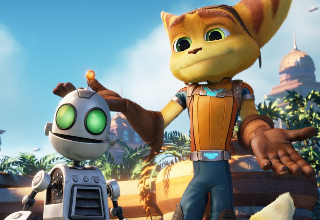 Ratchet and Clank doppiatore clank