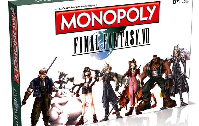 Monopoly Final Fantasy VII