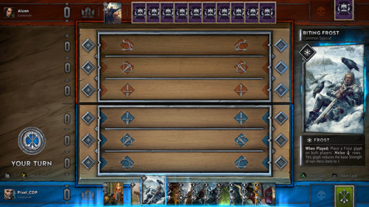 GWENT: The Witcher Card Game - The board