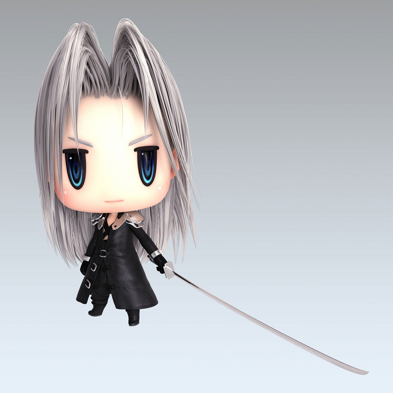 World of Final Fantasy data Sephiroth
