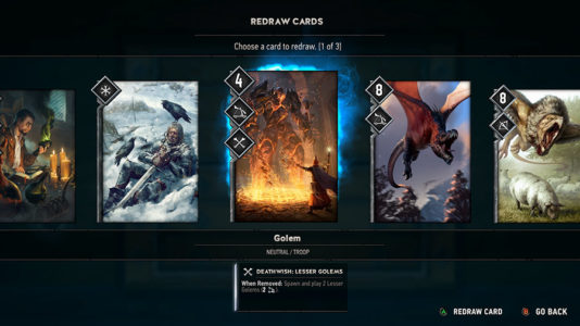 GWENT: The Witcher Card Game - Your_hand