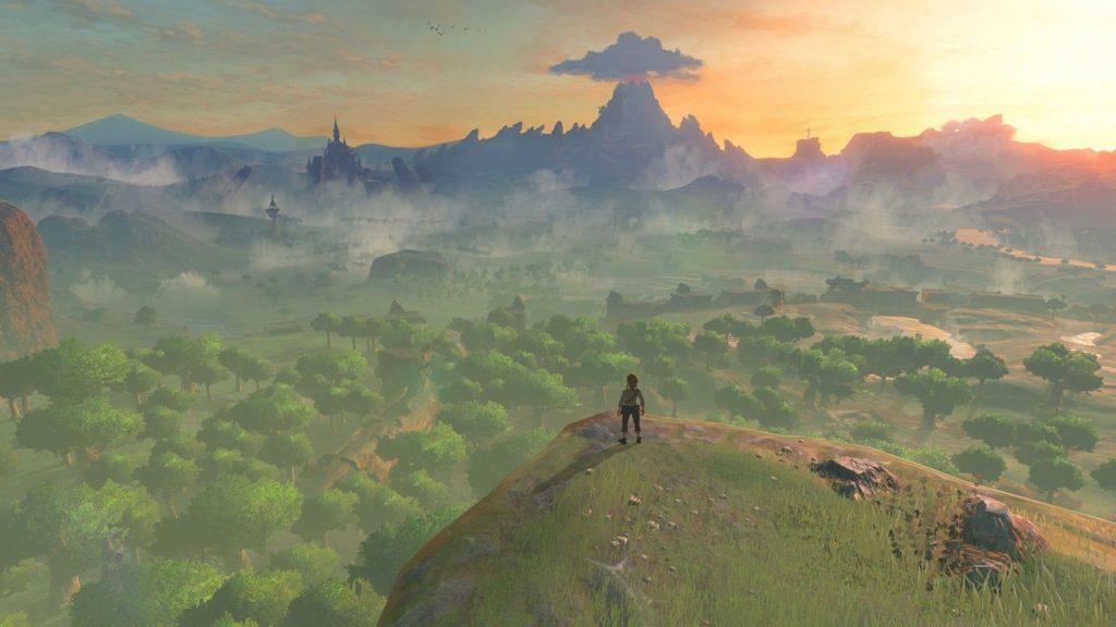 Zelda Breath of the Wild Xenoblade