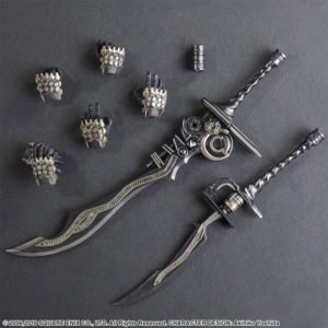 action figure di Final Fantasy XII Gabranth 06