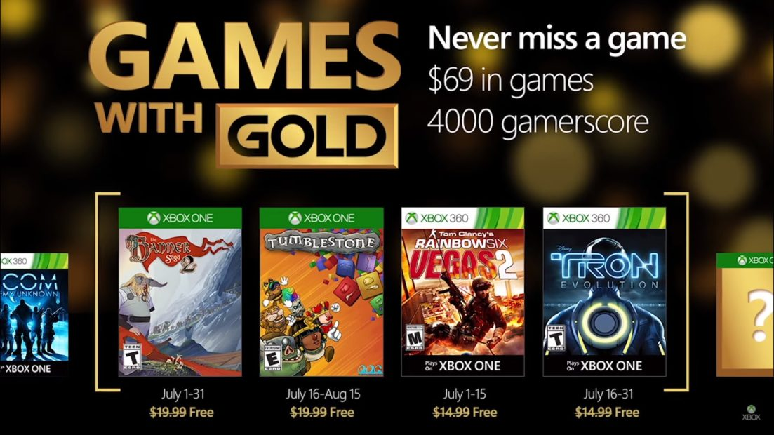 Games With Gold Confermato il primo gioco per Xbox One